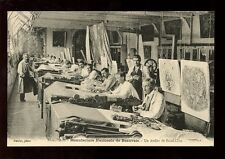 France Picardy BEAUVAIS Tapestry Makers c1900s? PPC social history