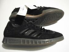New Adidas Handball Top Men's Size 12 Black Leather Shoes B38031 Retro Vintage