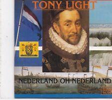 Tony Light-Nederland Oh Nederland cd single