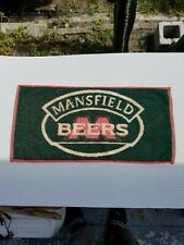 2- New Vintage Mansfield Beers Bar Towel