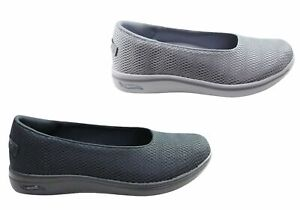 Skechers Womens Arch Fit Uplift Defined Comfortable Flats Shoes - Mesh