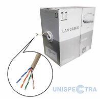 BRAND NEW ROLL OF 305m Ethernet Cable Reel Network LAN UTP CAT5e CCA UK