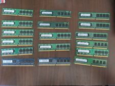 17x Lot PC2 DDR2 Memory Modules Assorted PC2-5300 1gb, 512mb, 256mb