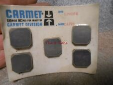 Five New Old Stock Carmet SJN63F4 Carbide Inserts