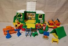 Vintage Tyco Sesame Street Camper Set  Early 90's with Figures and Accessories