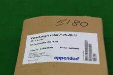 Eppendorf F45-8-17 fisso ROTORE centrifughe 48 x 1.5/2ml per Concentratore, Lab