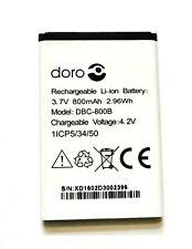 Genuine Doro DBC-800A / B Battery For Phone Easy 500 506 508 509 510 515 800mAh