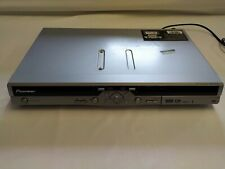 Pioneer DVD Recorder DVR-433H-S Silver 80GB hard drive HDD tested