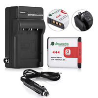 NP-BG1 Battery + Charger for SONY Cyber-Shot DSC-H10 H20 H50 H55 H70 H9 N2 H7