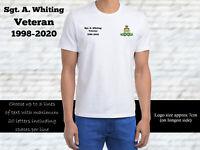 Royal Artillery Personalised T Shirt