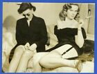 Two Sultry Females 1940 Smoking Ruth Lager Cigarette Holder Legs Stockings Q2895