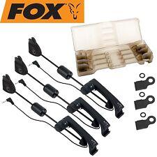 FOX MK2 Illuminated Swinger 3er Set black, Pendelbissanzeiger für Karpfenangler
