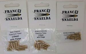10 FRANC N SNAELDA SIGNATURE TUBES FLY TYING FOR FRANCIS FLIES flange/unflanged