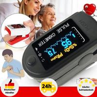 Finger Pulsoxymeter SPO2 OLED Puls Oximeter Monitor Sauerstoff Messgerät Blut