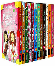 Enid Blyton Malory Towers Complete Collection 12 Books Set Children Gift Pack
