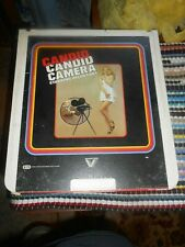 "Vestron VIDEO ""CANDID CANDID CAMERA"" W/ ALLEN FUNT RCA SelectaVision CED~GOOD"