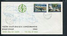 Ned.Nieuw Guinea, FDC E10 - E 10, Z-Pacific Conf., b/o, ds Biak