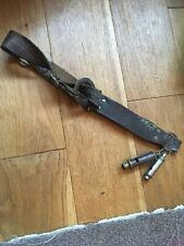 Boy Scout Belt And Two Whistles As Shown Vintage GL