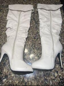 Knee High Heels Size 7