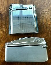 Vtg.Lot 2 lighter MaruMan (Japan) Fumalux (Germany).Untested for repair or parts