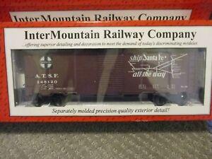 Intermountain O Scale 25139 Santa Fe Box Car  HiRail