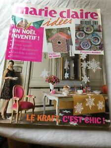 Magazine MARIE CLAIRE Idées nov/déc. 2010 n° 81 en très bon état.