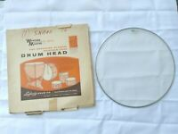 """Vintage 1960's LUDWIG 16"""" WeatherMaster Clear SNARE Drum Head Great Condition!"""