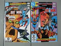 World's Finest Comics Lot of 2  #291 #292 Superman Batman