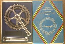 Vintage 1982 Campagnolo Super Record cranks crankset chainset kurbeln 170 mm