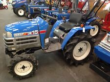 MICROTRACTEUR ISEKI 16 CV DIESEL  3 cylindres 4RM occasion