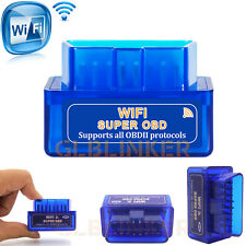 Super Mini V1.5 WiFi OBD2 Car Diagnostic Scanner ELM327 OBD Code Reader Tool UK