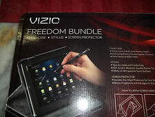 Vizio Freedom Bundle Folio Case for Vizio Tablet NEW