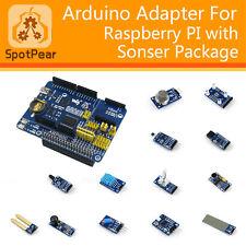Raspberry Pi/Arduino Expansion Module kit with 13 pcs sensor modules