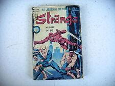 BD Marvel STRANGE album n° 59 reliant n° 176 à 178 - 1984
