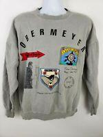 Obermeyer Vintage Rare Ski History Sweatshirt Osfa