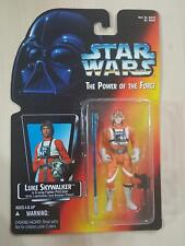 STAR WARS LUKE X-Wing Pilot-POTF RED CARD-MOC action figure Long Light Saber