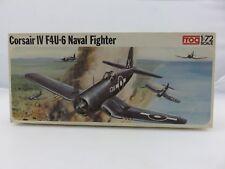 Frog Corsair Iv F4U-6 Naval Fighter 1/72 Scale Plastic Model Kit Started
