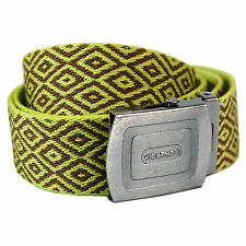 Pattern Belt -  Lime Green Cool Retro Fashion Design
