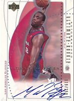 MELVIN ELY RC 02-03 ULTIMATE COLLECTION ROOKIE #71 AUTO #119/250 BK3662