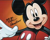BRET IWAN Signed 11x14 Photo MICKEY MOUSE Disney Autograph JSA COA Cert