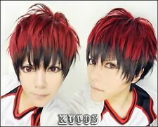 Kuroko's Basketball Kagami Taiga  Anime Cosplay Costume Wig + Free CAP