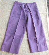 Girls Xhilaration Pants - Capri - Cropped Mauve  - Size Large