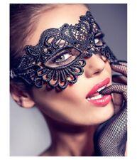 Masque noir sexy dentelle