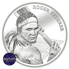 SUISSE 2020 - 20 Francs CHF - Roger Federer - argent 835‰ - BU