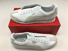 Puma Roma PF US EXT White/White-White 341795 15 Men's Size 12 NEW