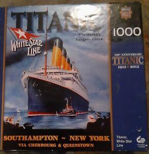 Titanic Jigsaw Puzzle 1000 Pieces.
