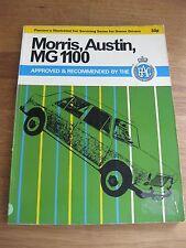 Pearson's Morris, Austin, MG 1100 service manual, FREE P&P