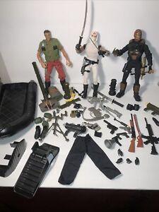 "Vintage 1996 GI Joe Pawtucket Cobra Storm Shadow12"" Action Figures & Accessories"