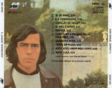 "JOAN MANUEL SERRAT ""4"" SPANISH EARLY CD VERSION - NO BARCODE"