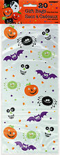 Cellophane Spooky Smiles Halloween Party Bags, Pack of 20